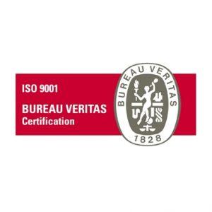 Certificat ISO 9001 de SICAP de l'organisme Bureau Veritas